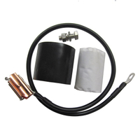 "Clip-on Grounding Kit for 1/2"" Coaxial Cable"