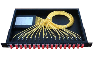 1*16 PLC splitter ABS CASE type with LC/PC connectors