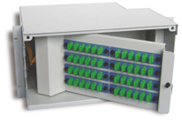 Rack mount Fiber optic distribution box 48-core