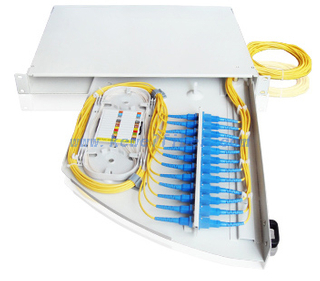 side sliding fiber optic distribution box