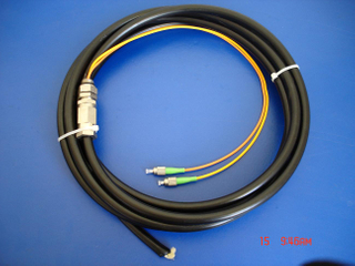 FC/APC 2cores waterproof pigtail for CATV