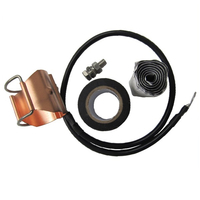 "Clip-on Grounding Kit for 1-5/8"" Coaxial Cable"
