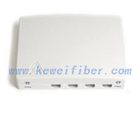 4cores FTTH wall outlets